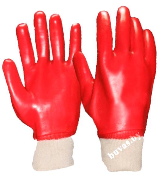 Перчатки с полифинилхлоридным покрытием МБС «Гранат»