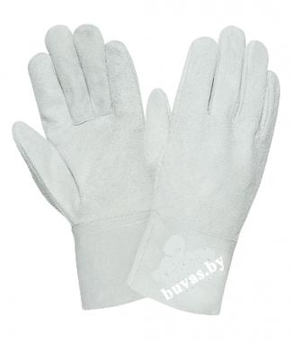 Перчатки цельно-спилковые «Драйвер»